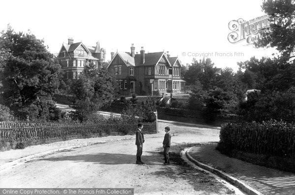 Parkstone, Sandecotes 1900