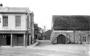 Poole, Thames Street And St James' Church 1908