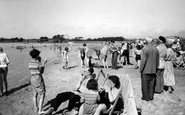 Poole, The Beach, Rockley Sands c.1960