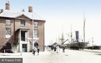 Poole, the Custom House 1904