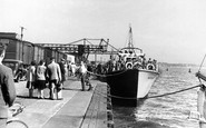 Poole, the Harbour c1950