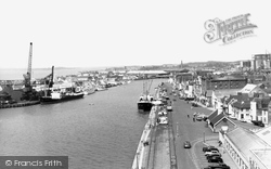Poole, The Harbour c.1955