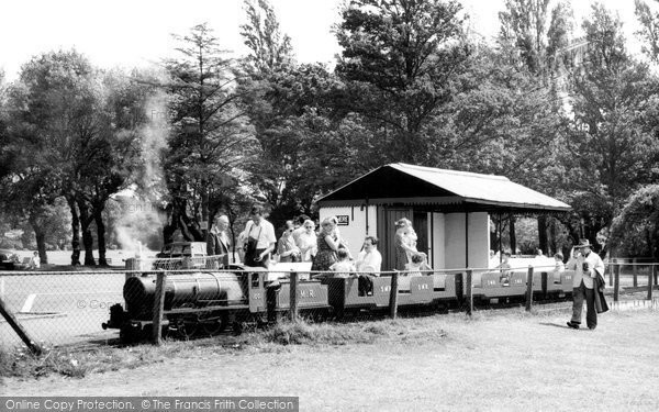Poole, The Miniature Railway c.1960