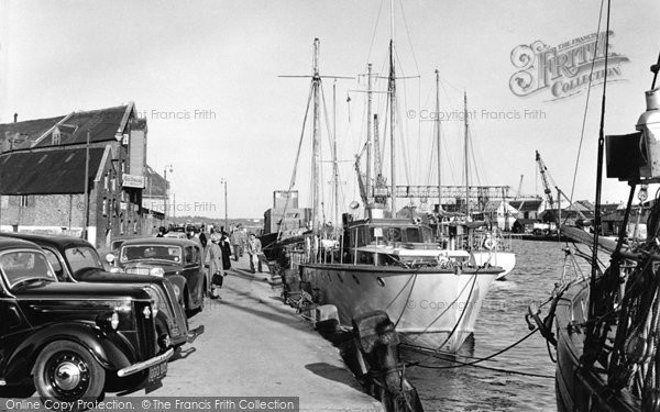 Photo of Poole, the Quayside 1950