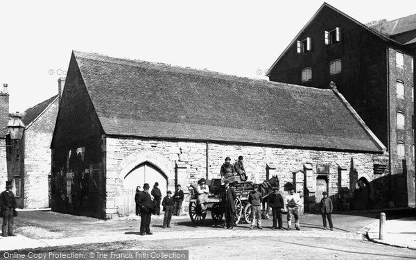 Poole, the Town Cellars 1887