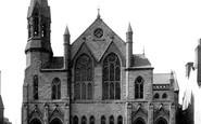 Poole, The Wesleyan Chapel 1887