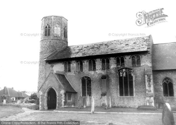 Photo of Poringland, All Saints Church c.1965