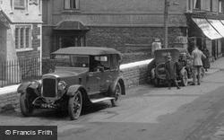 Cars In The High Street 1927, Porlock