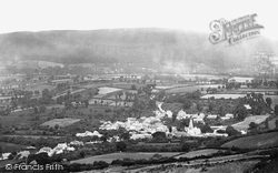 Porlock, From Top Of Hill c.1871