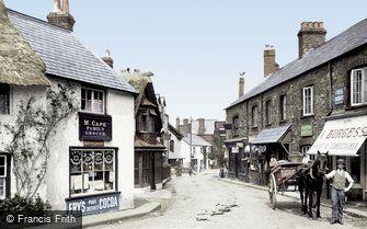 Porlock, High Street 1919