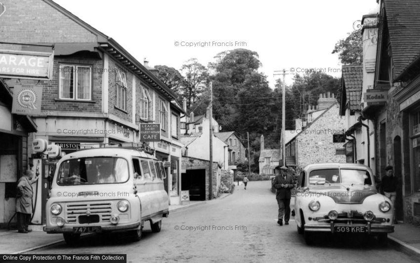 Porlock, High Street c1960