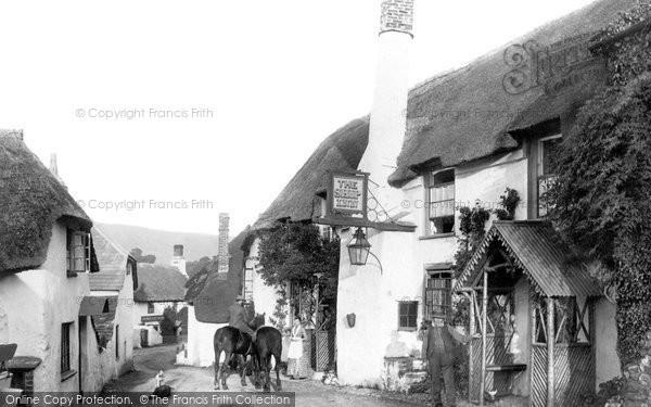 Photo of Porlock, the Ship Inn 1890, ref. 23509