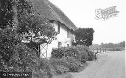 Porlock Weir, An Old Cottage 1939