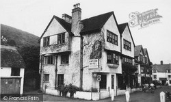 Porlock Weir, Anchor Hotel c.1965