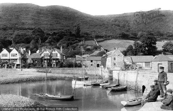 Photo of Porlock Weir, 1907, ref. 58367