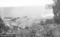 Porlock Weir, From Above 1929