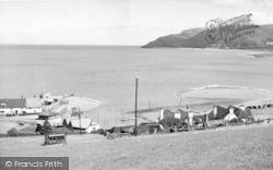 Porlock Weir, General View c.1955