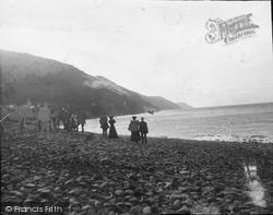 Porlock Weir, Gone To Sea 1907