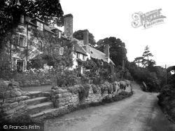 Porlock Weir, Lane Head 1931