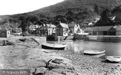 Porlock Weir, Little Harbour 1929