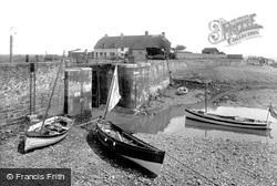 Porlock Weir, Low Tide 1929