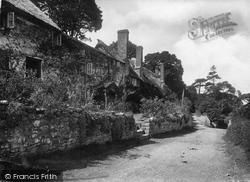 Porlock Weir, Old Cottages 1923