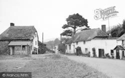 Porlock Weir, Old Cottages 1939
