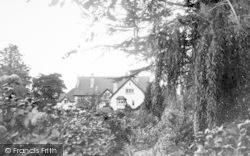 Porlock Weir, Porlock Ford House c.1960