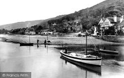 Porlock Weir, The Harbour 1929