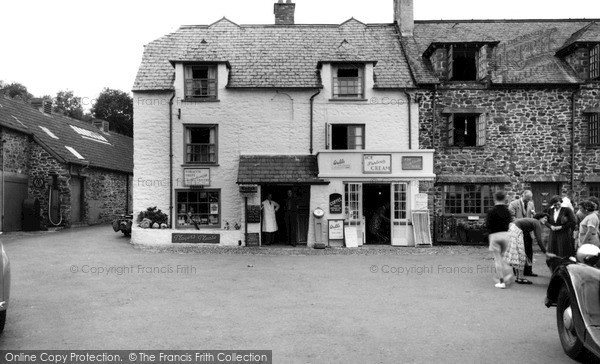 Photo of Porlock Weir, the Village Shop c1960