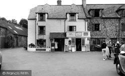 Porlock Weir, The Village Shop c.1960