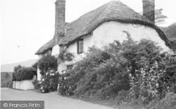 Porlock Weir, Whitewash And Thatch 1939