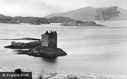 Port Appin, Castle Stalker, The Sentinel Of Appin c.1930