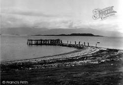 Port Appin, Hills Of Morven 1955