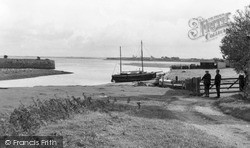 Port Carlisle, Quayside And Harbour c.1965