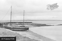 Port Carlisle, Towards Scotland Across The Solway Firth c.1965