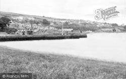Port Dinorwic, From Beach c.1960