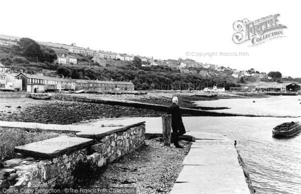Photo of Port Dinorwic, From Harbour Wall c.1960