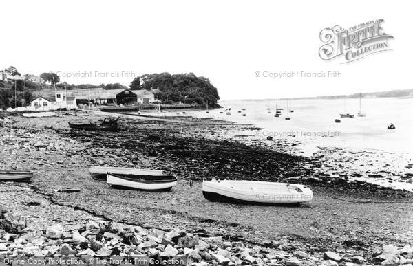 Photo of Port Dinorwic, The Beach c.1960