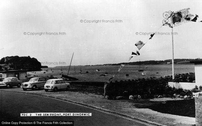 Photo of Port Dinorwic, The Seafront c.1960