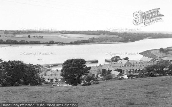 Photo of Port Dinorwic, The Village And Menai Straits c.1960
