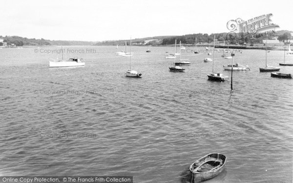 Photo of Port Dinorwic, View From The Harbour c.1960