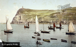 Bradda Head c.1895, Port Erin