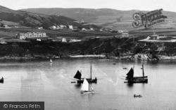 Fishing Boats In The Bay 1901, Port Erin