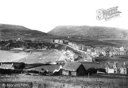 Port Erin, From Cliffs 1895