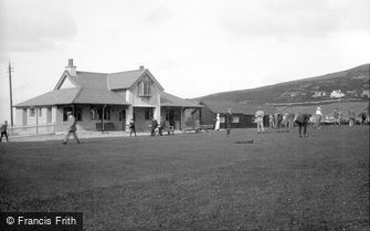 Port Erin, Golf Links, the Pavilion 1912