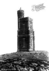 Milner Tower, Bradda Head 1901, Port Erin