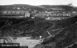 Spaldrick Beach, Bradda 1912, Port Erin