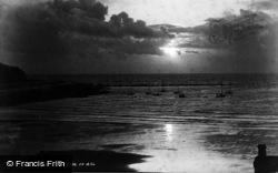 Sunset Off Bradda Head 1903, Port Erin