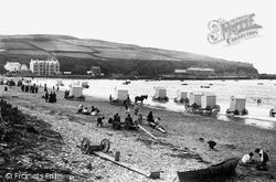 Port Erin, The Beach 1897